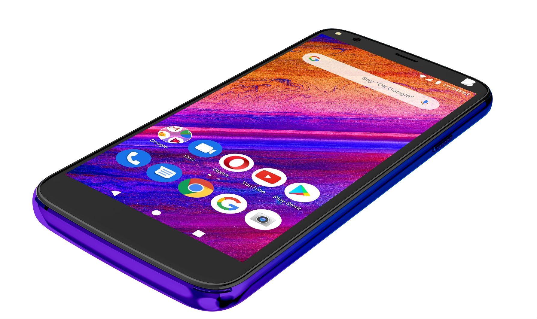 """Смартфон BLU G5 - 5.5"""", 32GB, twilight - 4"""