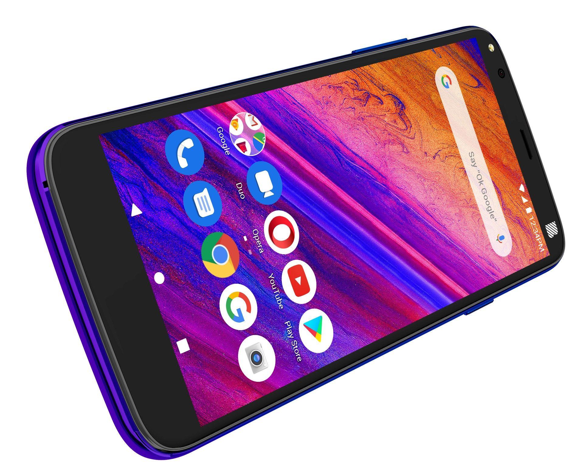 """Смартфон BLU G5 - 5.5"""", 32GB, twilight - 5"""