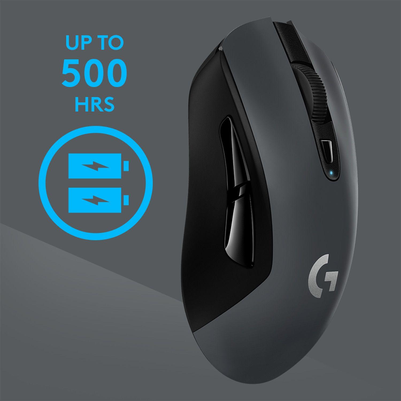 Гейминг мишка Logitech G603 Lightspeed - оптична, безжична - 3