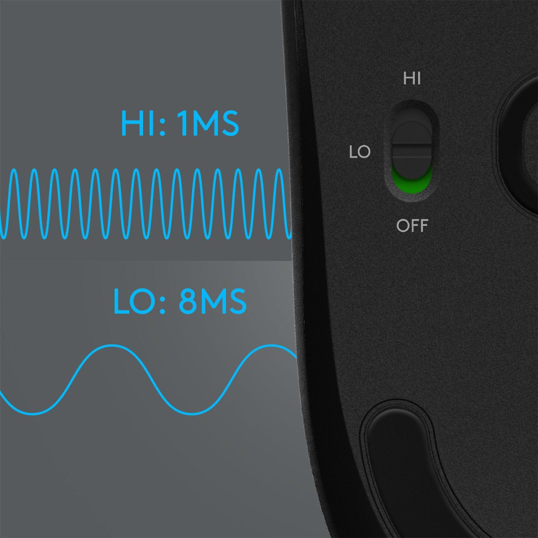 Гейминг мишка Logitech G603 Lightspeed - оптична, безжична - 10