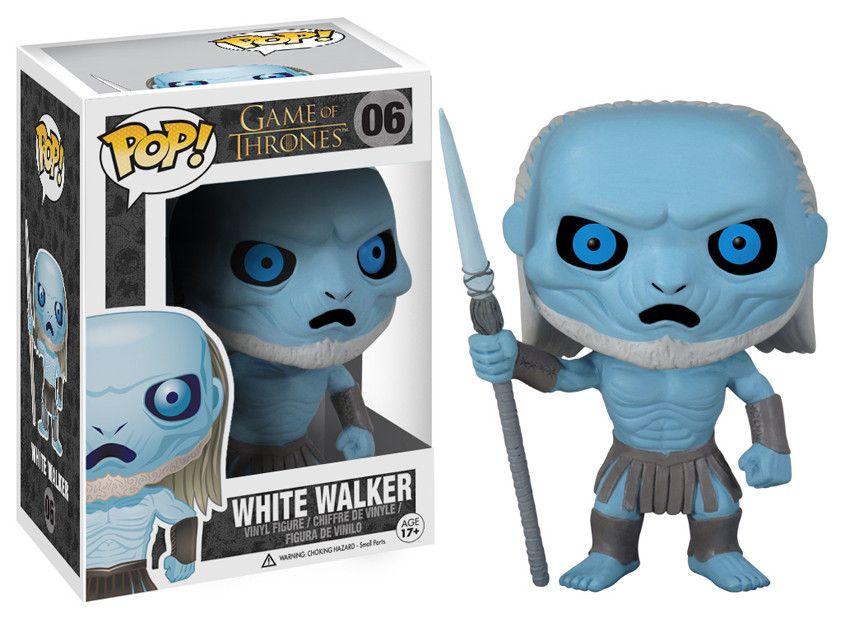 Фигура Funko Pop! Television: Game of Thrones - White Walker, #06 - 2