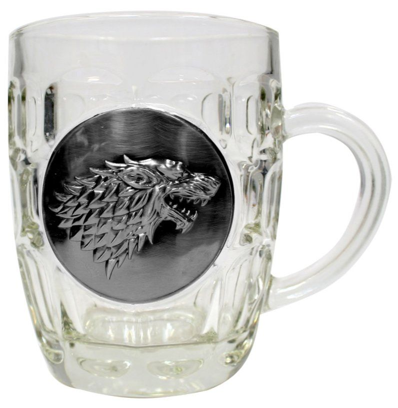 Халба Game of Thrones - Stark Metallic Logo - 1