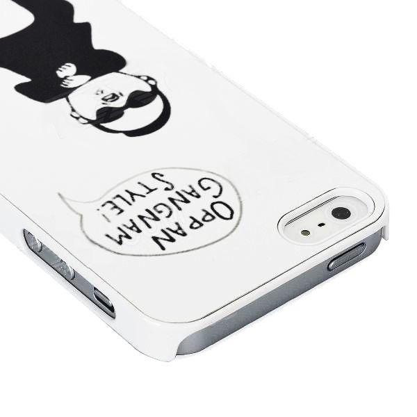 Gangnam Style за iPhone 5 -  бял - 4