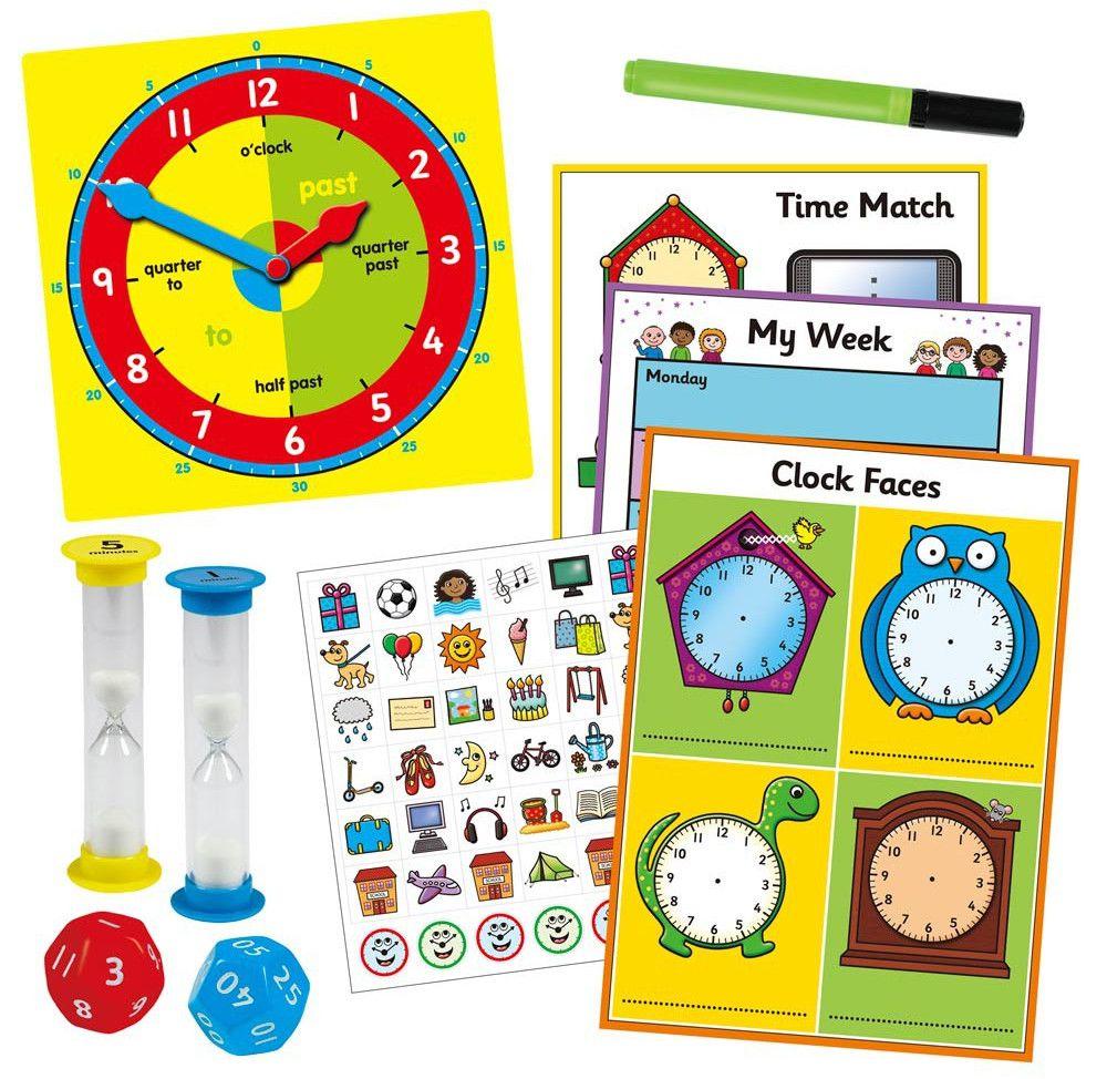 Детска игра Galt - Колко е часа? - 3