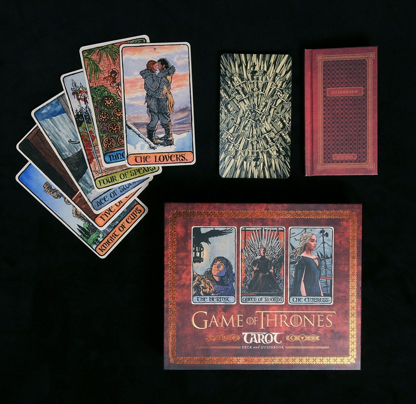 Game of Thrones: Tarot Cards (Deck and Guidebook) - 4
