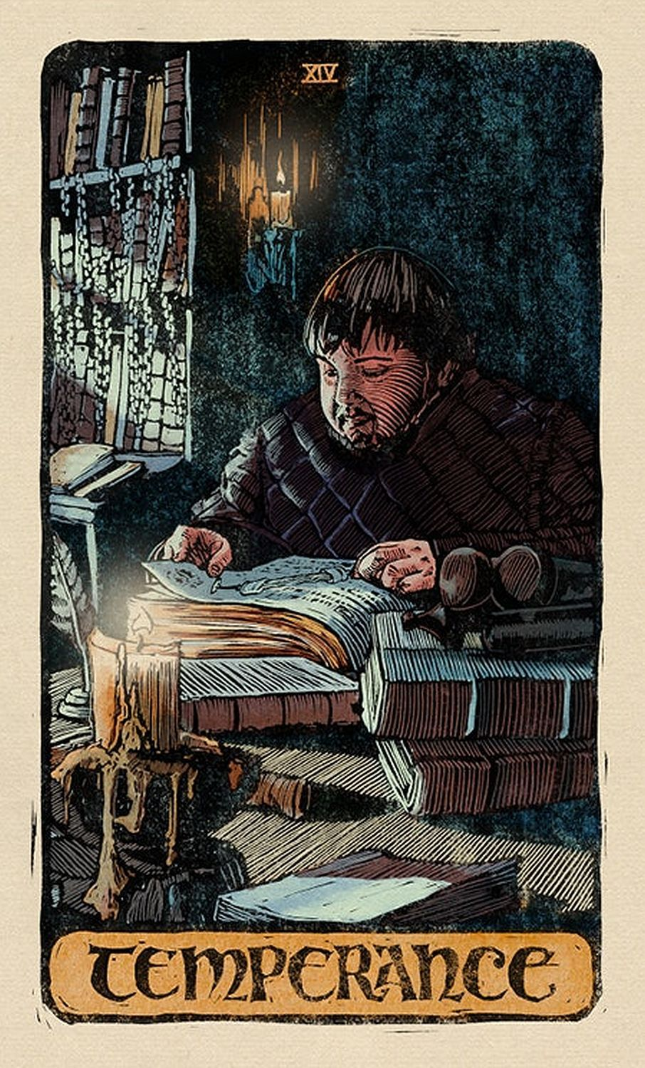 Game of Thrones: Tarot Cards (Deck and Guidebook) - 13