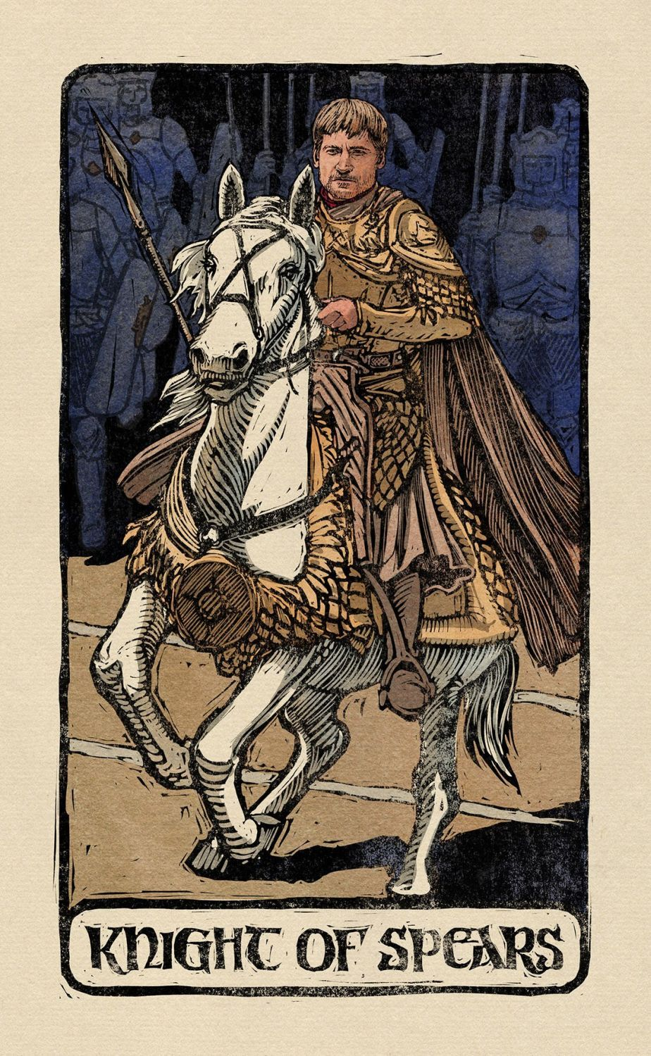 Game of Thrones: Tarot Cards (Deck and Guidebook) - 11
