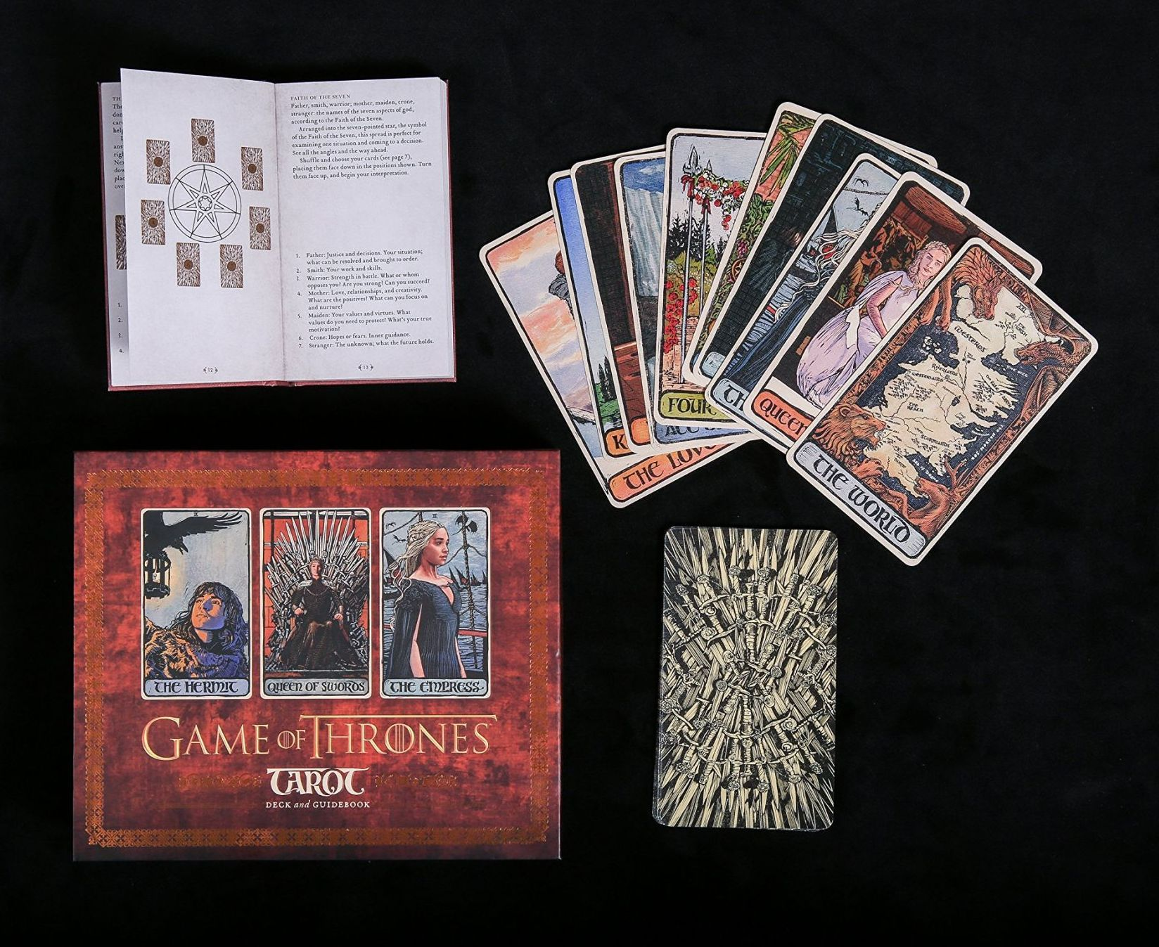 Game of Thrones: Tarot Cards (Deck and Guidebook) - 5