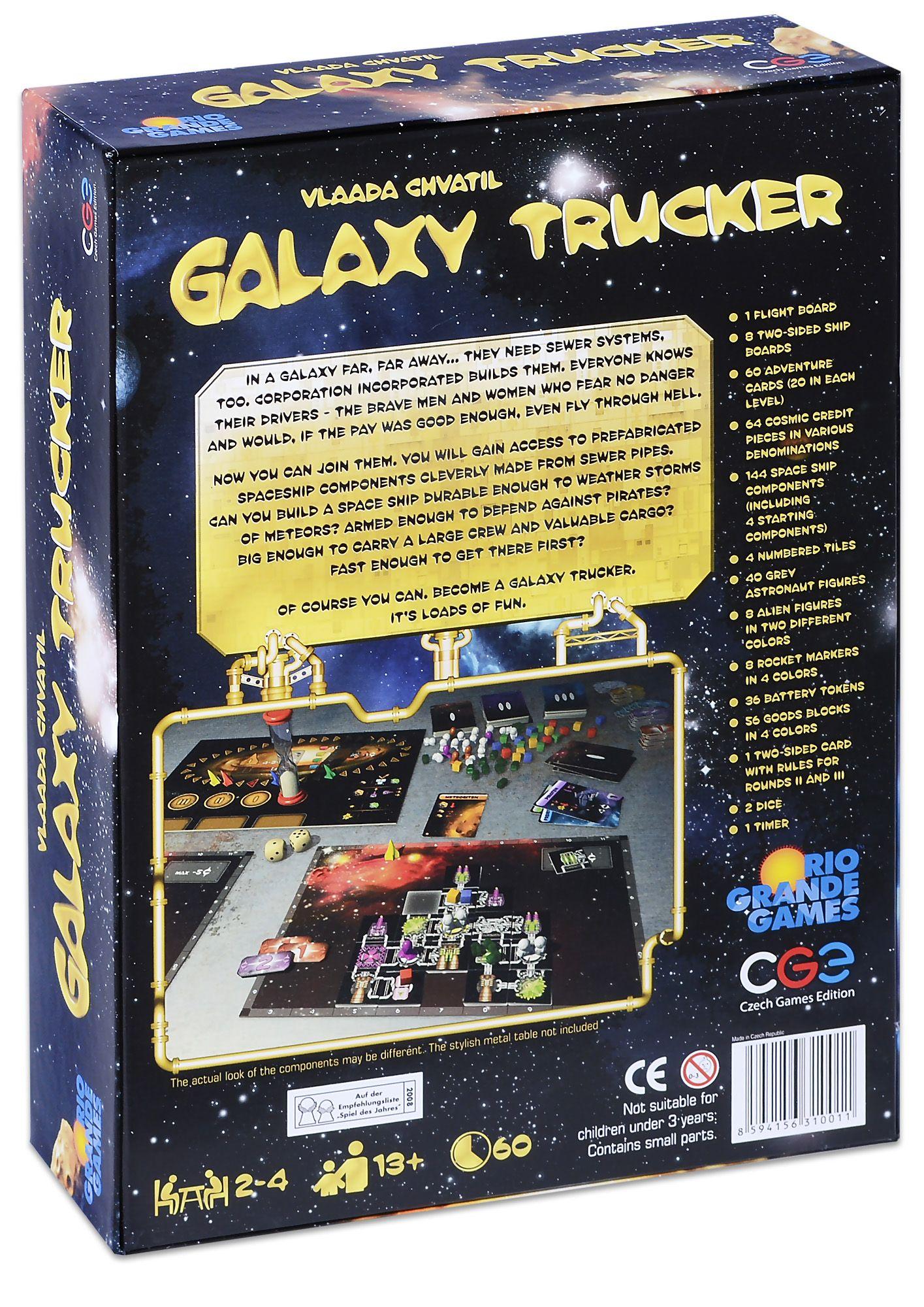 Настолна игра Galaxy Trucker - 2