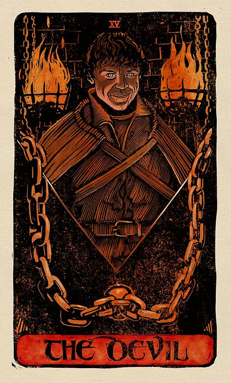 Game of Thrones: Tarot Cards (Deck and Guidebook) - 12