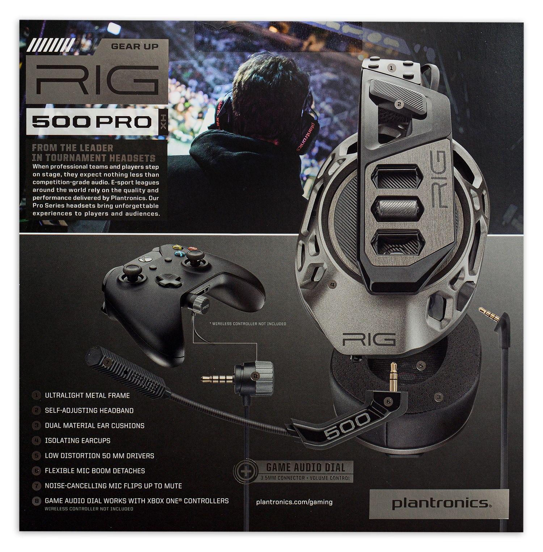 Гейминг слушалки Plantronics - RIG 500 PRO HX Special Edition, черни - 7