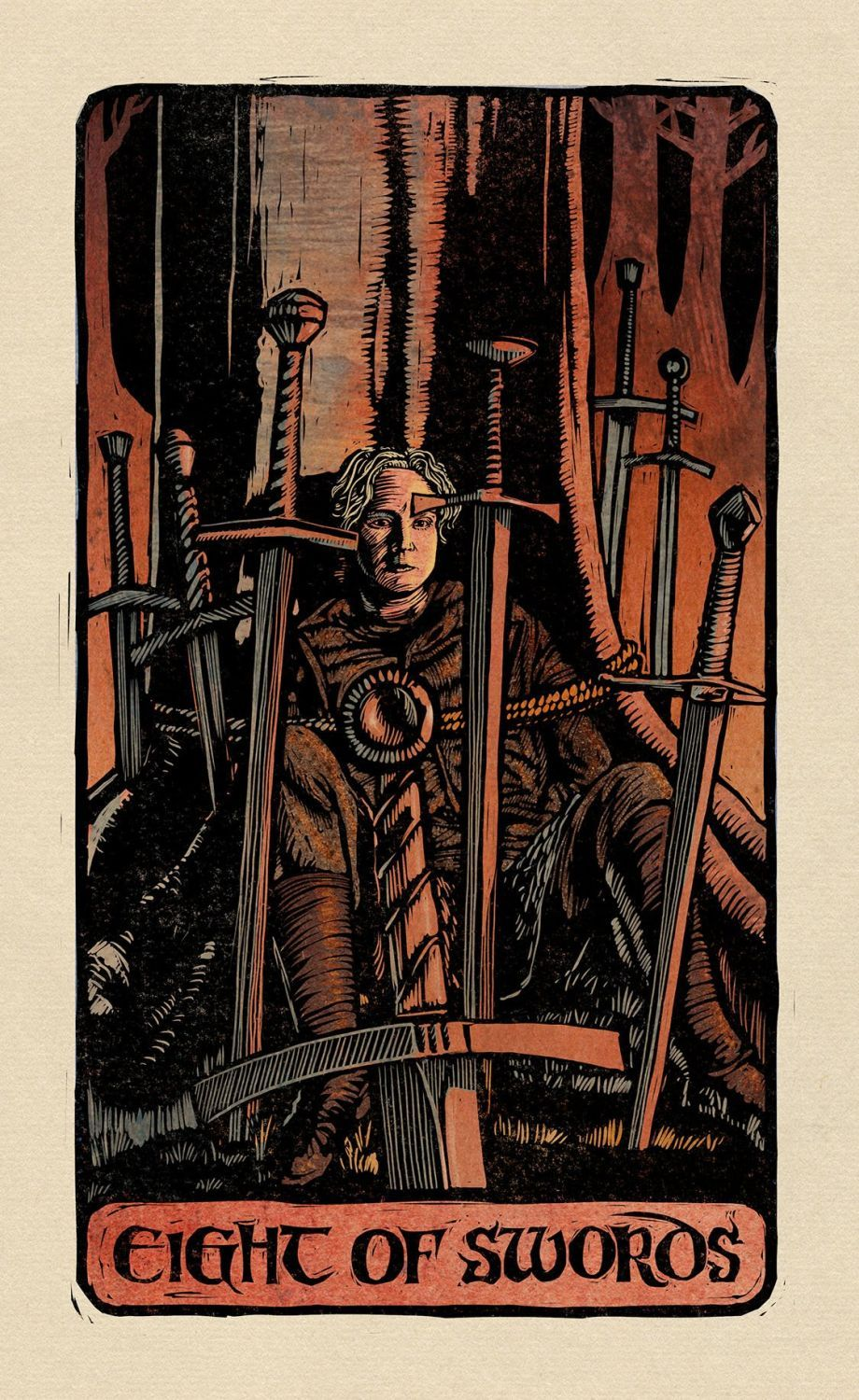 Game of Thrones: Tarot Cards (Deck and Guidebook) - 16