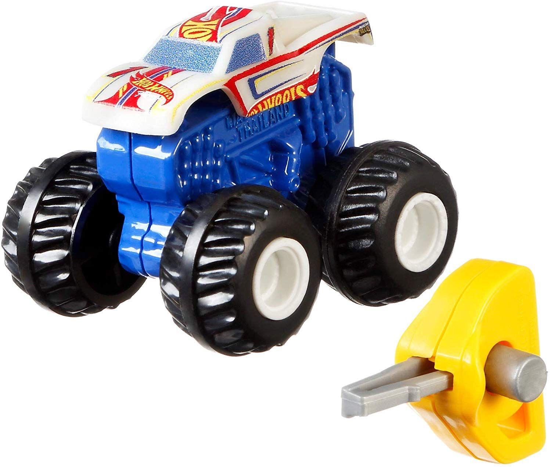 Количка-изненада Hot Wheels Monster Trucks -  Мини бъги - 4
