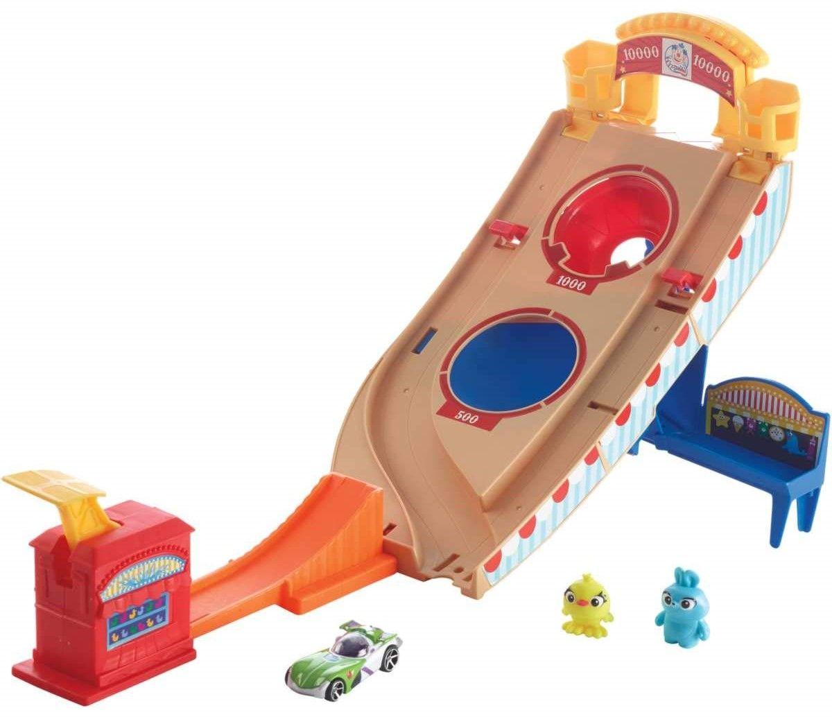 Игрален комплект Hot Wheels Toy Story 4 - Buzz Lightyear Carnival Rescue - 3