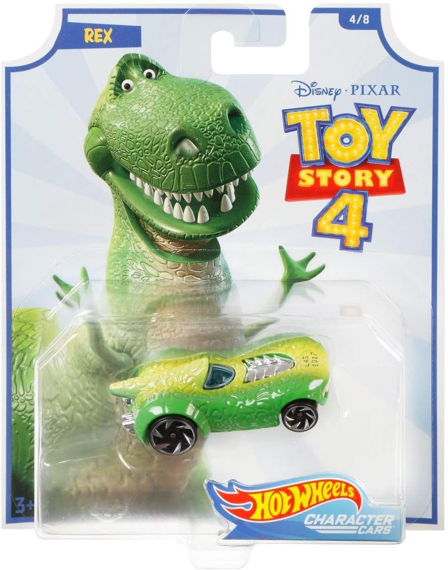 Количка Hot Wheels Toy Story 4 - Rex - 1