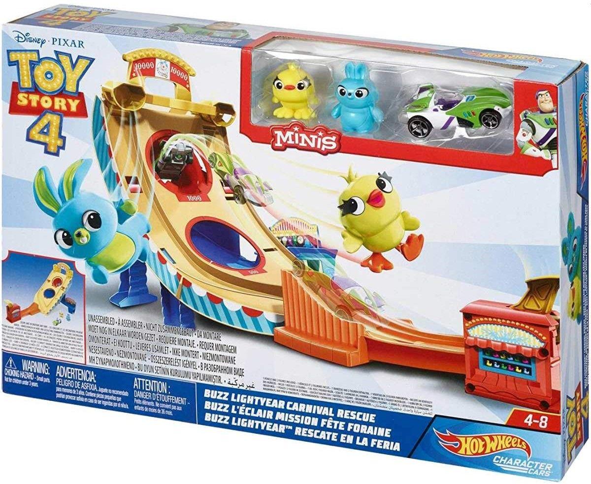 Игрален комплект Hot Wheels Toy Story 4 - Buzz Lightyear Carnival Rescue - 1