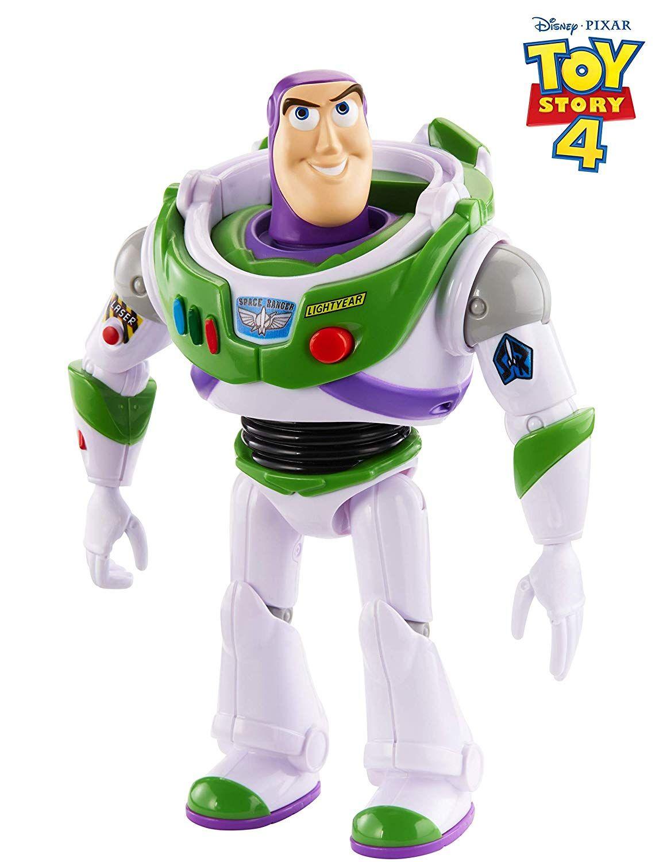 Детска говореща играчка Mattel Toy Story 4 - Баз Светлинна година - 2