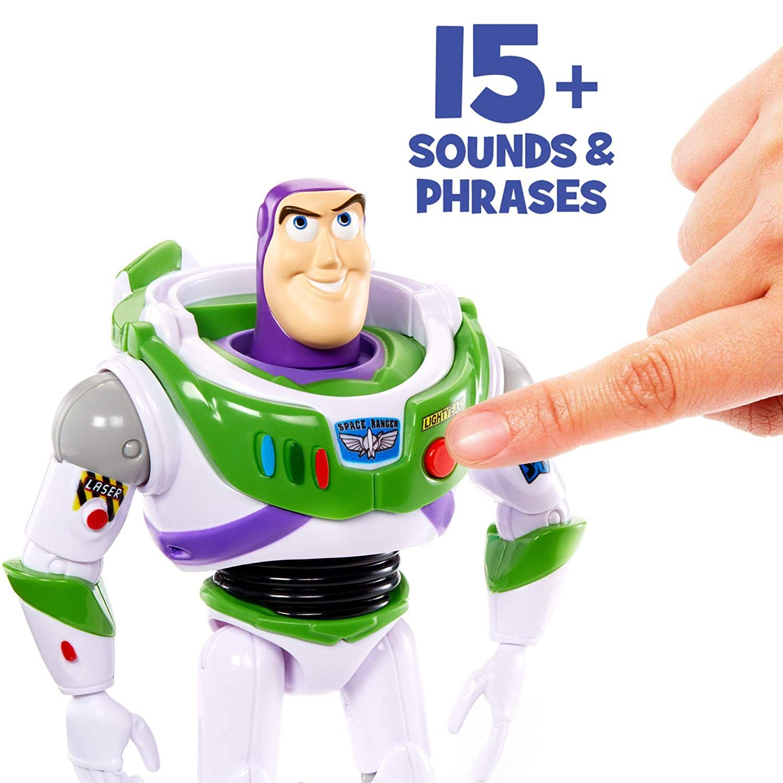 Детска говореща играчка Mattel Toy Story 4 - Баз Светлинна година - 3