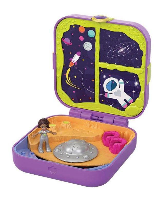 Игрален комплект Mattel Polly Pocket - Скрито съкровище, асортимент - 3