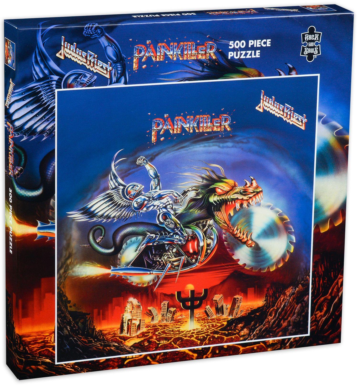 Пъзел от 500 части Judas Priest - Painkiller - 1