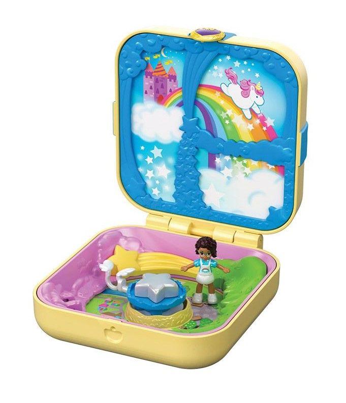 Игрален комплект Mattel Polly Pocket - Скрито съкровище, асортимент - 6