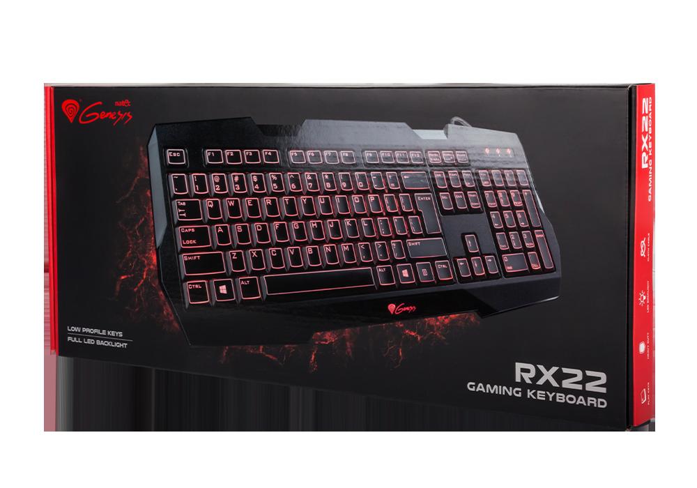 Гейминг клавиатура Genesis RX22 Backlight US Layout - 3