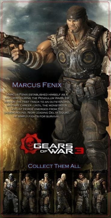 Gears of War 3 Series 1 Marcus Fenix - 4
