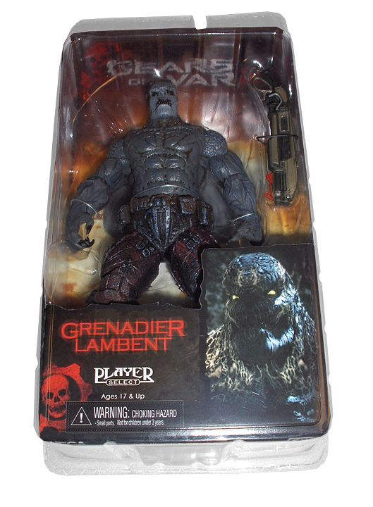 Gears of War Action Figure Locust Grenadier SDCC Exclusive 18 cm - 2