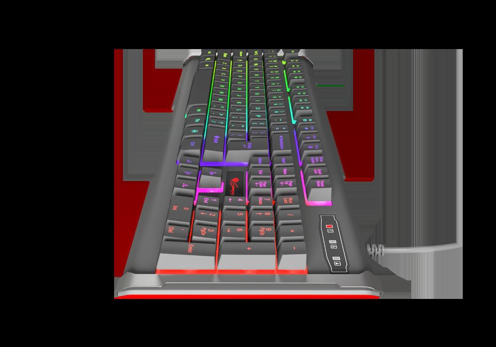 Гейминг клавиатура Genesis RHOD 400 RGB -NKG-0873 - многоцветна подсветка - 3