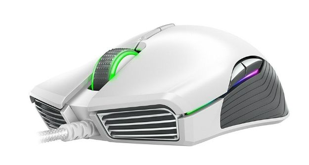 Гейминг мишка Razer Basilisk - Mercury Edition, бяла - 1