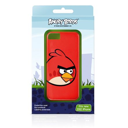 Gear4 Angry Birds Classic Red Bird за iPhone 5 - 2