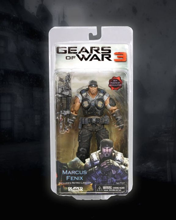 Gears of War 3 Series 1 Marcus Fenix - 3