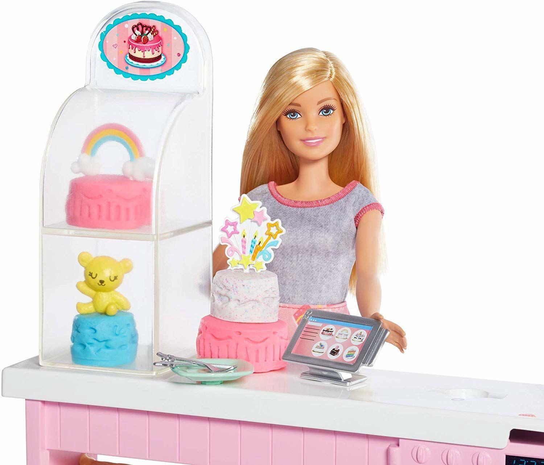 Игрален комплект Mattel Barbie - Приготвяне на сладкиши - 4