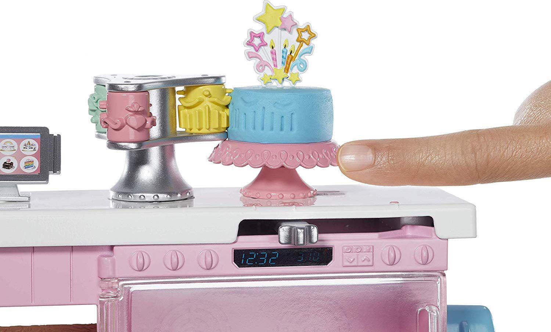 Игрален комплект Mattel Barbie - Приготвяне на сладкиши - 7