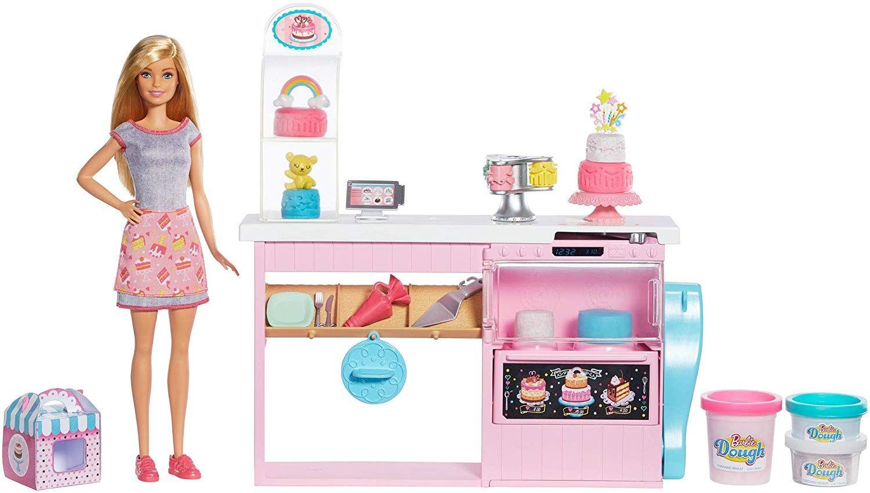 Игрален комплект Mattel Barbie - Приготвяне на сладкиши - 2