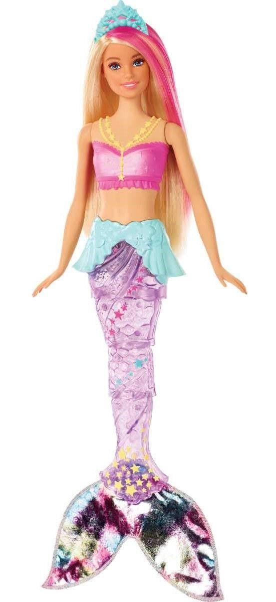 Кукла Mattel Barbie - Русалка със светеща опашка - 2