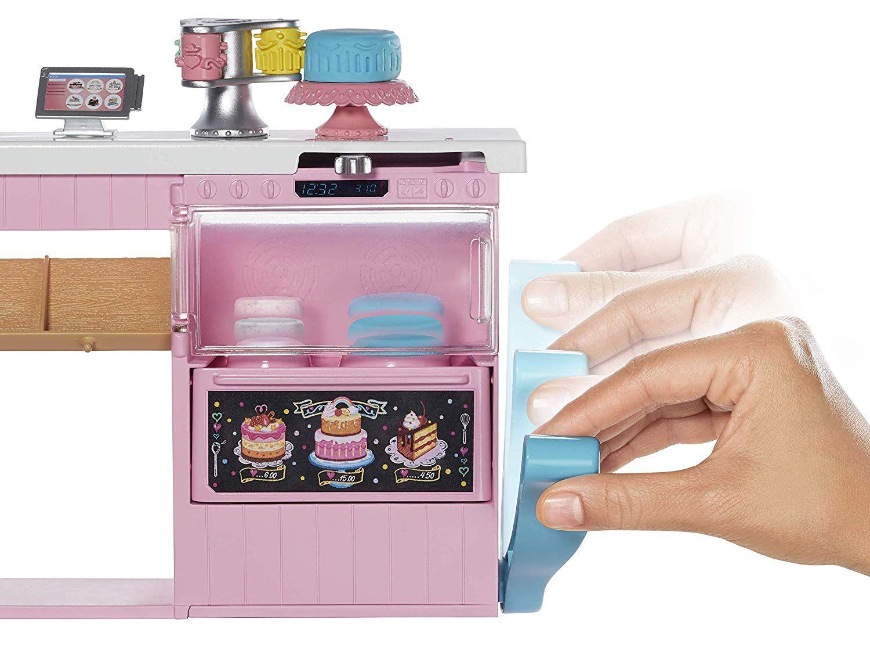 Игрален комплект Mattel Barbie - Приготвяне на сладкиши - 5