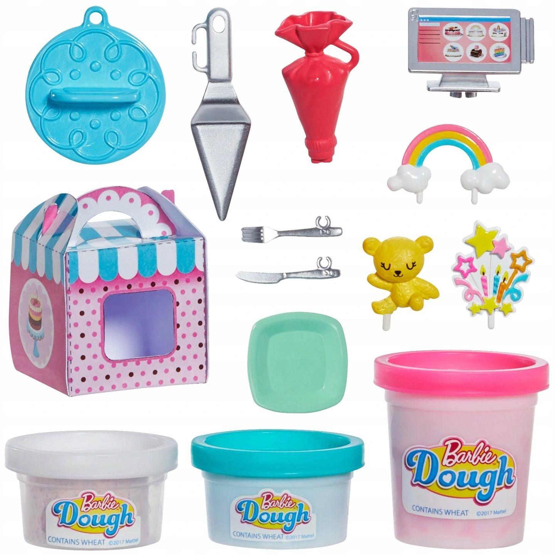 Игрален комплект Mattel Barbie - Приготвяне на сладкиши - 3