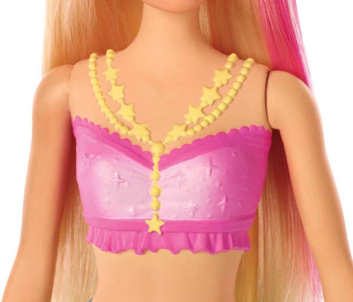 Кукла Mattel Barbie - Русалка със светеща опашка - 4