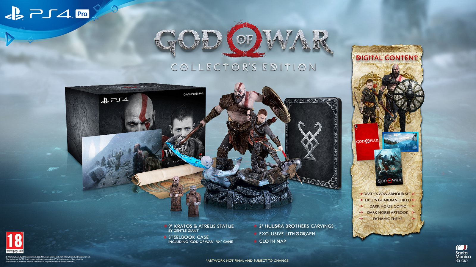 God of War Collector's Edition (PS4) - 5