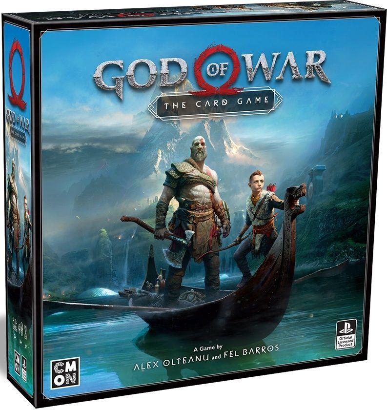 Настолна игра God of War - The Card Game - 1