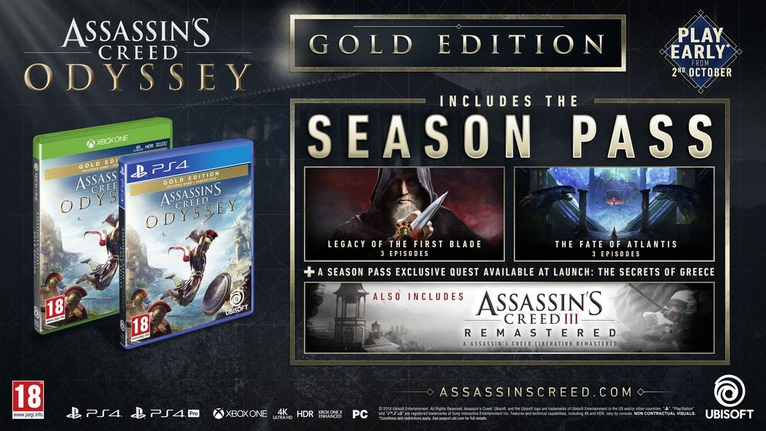 Assassin's Creed Odyssey Gold Edition (Xbox One) - 3