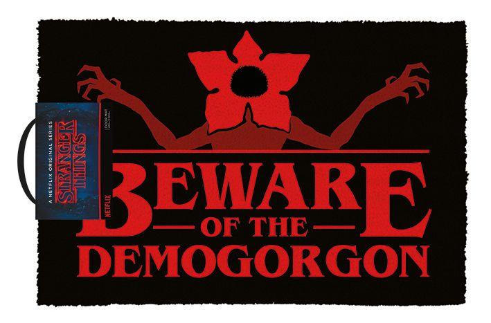Изтривалка за врата Pyramid - Stranger Things (Beware of the Demogorgon) - 1