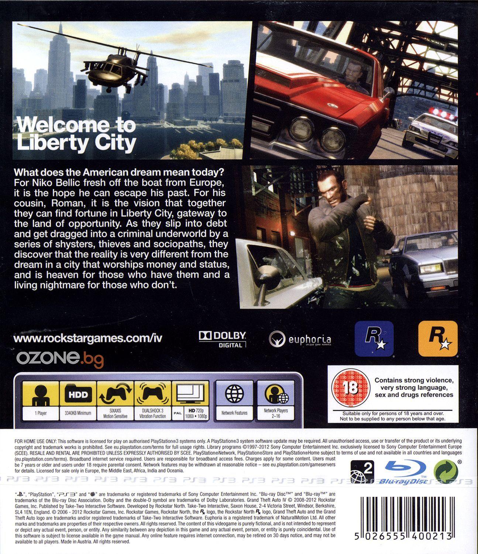 Grand Theft Auto IV (PS3) - 3