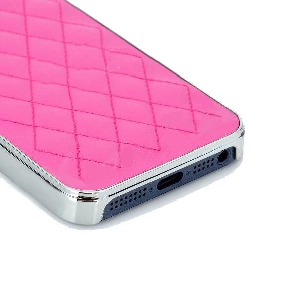 Grid Leather Case за iPhone 5 - 3