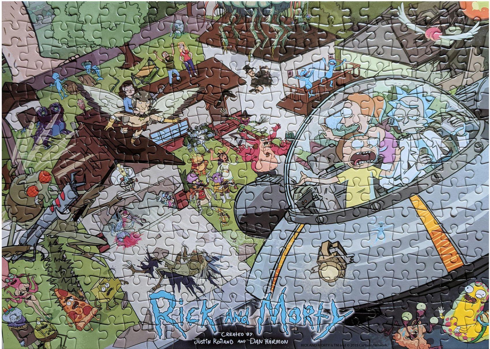 Пъзел Jigsaw от 300 части - Rick and Morty - 2
