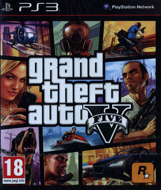 Grand Theft Auto V (PS3) - 1