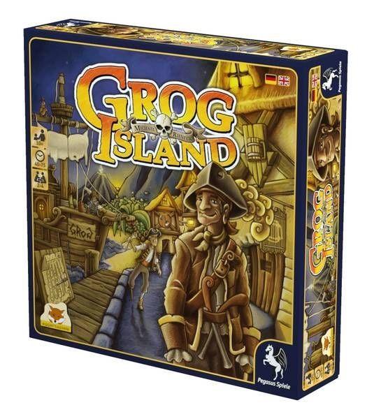 Настолна игра Grog Island - стратегическа - 1