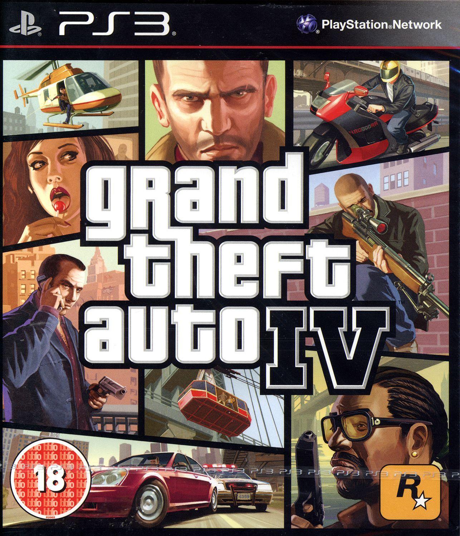 Grand Theft Auto IV (PS3) - 1