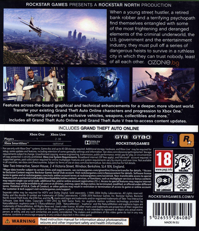 Grand Theft Auto V (Xbox One) - 5